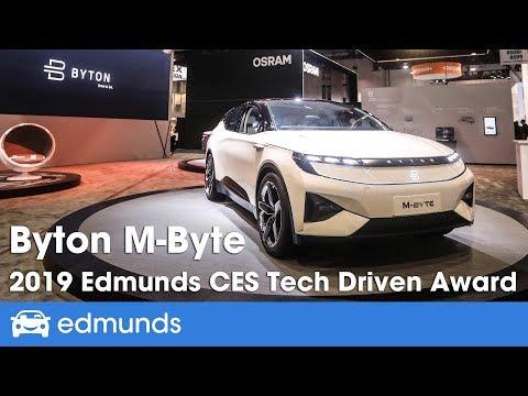Byton M Byte 2019 Edmunds CES Tech Driven Awards
