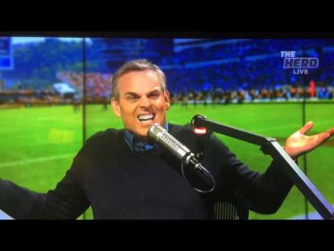 Colin Cowherd s take on the presidential election