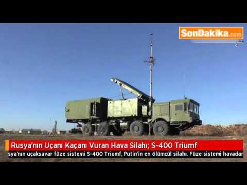 Rusya'nın Uçanı Kaçanı Vuran Hava Silahı  S-400 Triumf.mp4