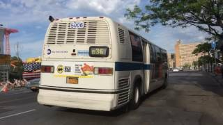 [MTA]: Coney Island / W 37th St Bound 1999 Novabus RTS [#5006] B36 Bus @ Surf & Stillwell Avenues