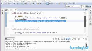 39 | Pass by Value and Pass by Reference in Java Video Tutorial