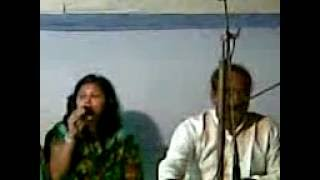 Baul Sunil Sarker and his copartner Singing a song on the occasion of Jalal Musical Evening..3gp
