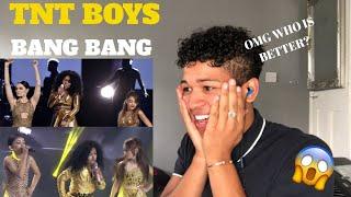 TNT Boys as Jessie J , Ariana Grande, & Nicki Minaj   YFSF 2018  Bang Bang  MY REACTION
