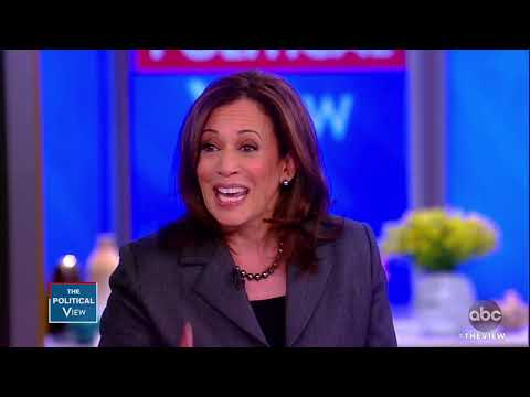Sen. Kamala Harris Says She s Not Yet Ready to Announce If She ll Run for President The View