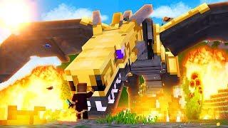 Minecraft Mundo dos Dragões, O DRAGÃO SOMBRIO GIGANTE! #39