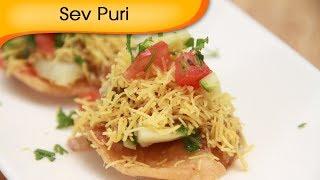 Sev Puri - Indian Canape - Vegetarian Fast Food Recipe by Ruchi Bharani [HD]