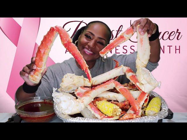 Meeresfrüchte-Kochgeschirr 14 & Bloves Smackilicous Seafood Sauce ⚠ Smacking Geräusche, Chaos Essen