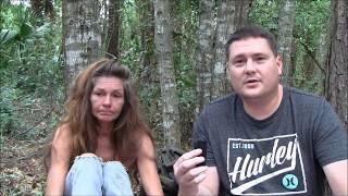 Homeless woman Cocoa, Florida