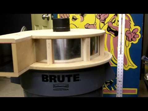 Part 4 5 Thien Top Hat Dust Separator Build