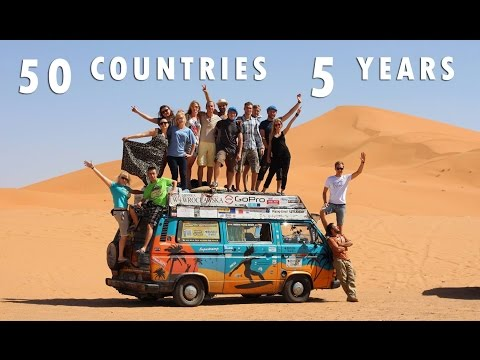 Bus Around The World 50 countries in 5 years