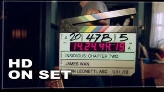 Insidious Chapter 2: Behind the Scenes Part 1 of 2 (Broll)