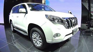 Drastic facelift 2016, 2017 Toyota Land Cruiser Prado pops up in China