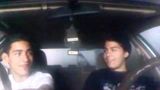Dummies In A Car .