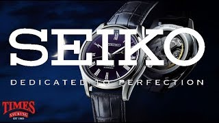 The Complete History of the Seiko Watch Company
