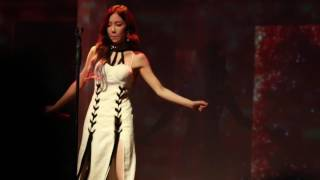 taeyeon fire persona hk concert  day1