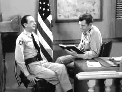 watch Barney Fife The Preamble To The Constitution