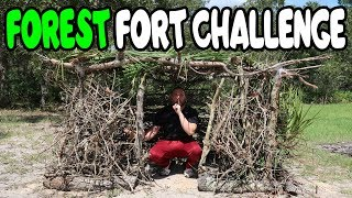 Forest Fort Challenge