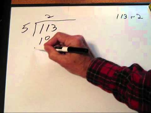 Converting a (Base 10) Number to Base 5