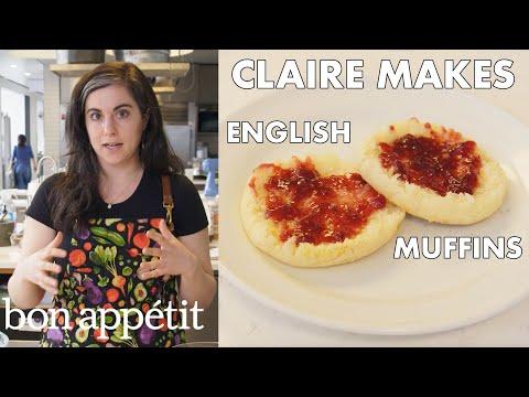 Xxx Mp4 Claire Makes BA S Best English Muffins From The Test Kitchen Bon Appétit 3gp Sex