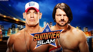 WWE SUMMER SLAM 2016 ORAKEL   John Cena vs. AJ Styles   Let's Play WWE 2K16