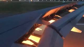Incendio en el avión que trasladaba a Arabia Saudita al mundial de  Rusia