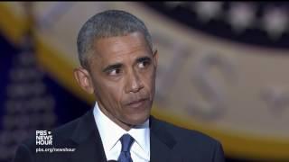 Obama to Michelle:
