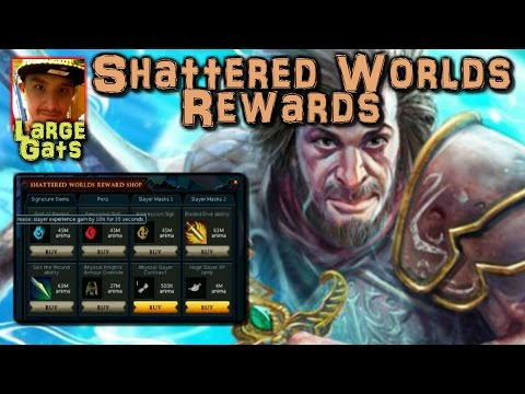 Shattered Worlds - A look at the rewards!