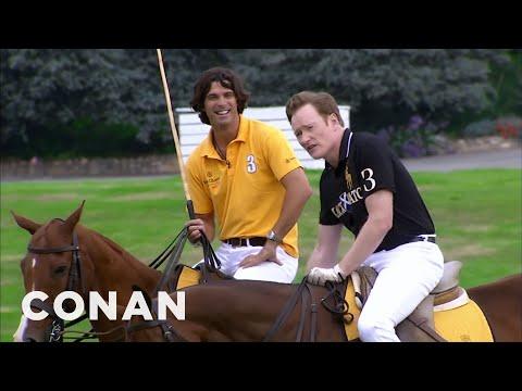 Conan Learns To Play Polo CONAN on TBS
