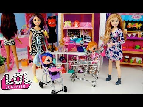 Xxx Mp4 Barbie Sisters Babysitting L O L Surprise Confetti Dolls Barbie Shopping Mall 3gp Sex