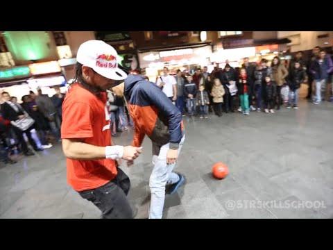 Insane STREET Football Skills Panna London Pt2 Séan Garnier