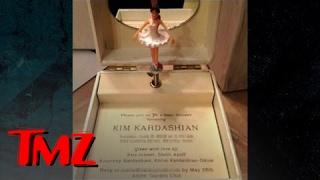 Kim Kardashian's Baby Shower -- Over-the-Top Invitation   TMZ