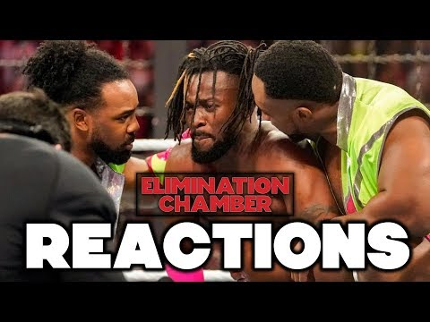 Xxx Mp4 WWE Elimination Chamber 2019 Reactions 3gp Sex