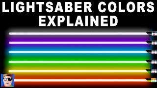 Star Wars: Lightsaber Colors Explained