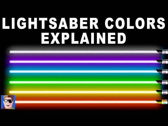 Star Wars: Lightsaber Colors Explained
