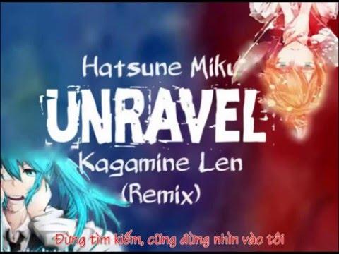 Unravel Hatsune Miku Kagamine Len Cover Vietsub