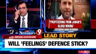 Arnab Goswami's Take On 'Khoon Ki Dalali' Fight
