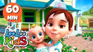 The Farmer in the Dell - Educational Songs for Children | LooLoo Kids