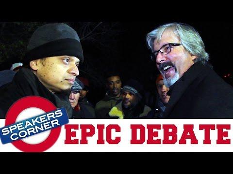 Xxx Mp4 Dr Larry Taunton Vs Mansur Epic Muslim Christian Debate Speakers Corner 3gp Sex