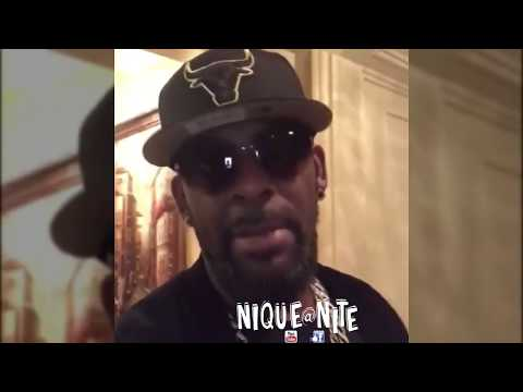 R kelly Was robbed by close friend. Shows Empty House