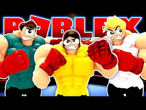 GET READY TO RUMBLE!!! - Roblox Boxing Simulator with Gamer Chad &MicroGuardian - DOLLASTIC PLAYS!