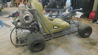 New Turbo for the Shopping Go Kart?