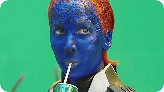 X-MEN APOCALYPSE Bloopers Gag Reel (2016)