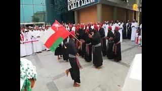 شاهد.. الفنون الشعبية حاضرة في احتفالات بنك مسقط بالعيد الوطني الـ48 المجيد