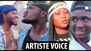 If some music artiste voices were sold in the market 😂😂 (Xploit Comedy)