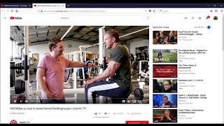 Ralf Möller VS Diplom video MANIPULATOR-SCHRÄGBANKDRÜCKEN!Kraftsport,DÜSSELDORF,Recklinghausen!