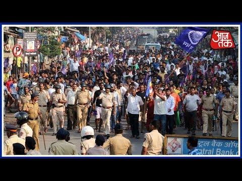 Xxx Mp4 Shatak AajTak Protests Spread Across Maharashtra After Bhima Koregaon Caste Violence 3gp Sex