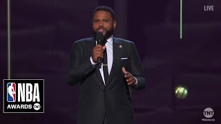 NBA Awards Opening Monologue   Anthony Anderson