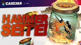 Jeden Tag was umsonst! Die geilste Case Opening Seite!!! - casejar.com