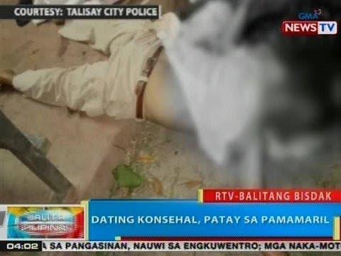 Xxx Mp4 BP Dating Konsehal Patay Sa Pamamaril Sa Talisay City 3gp Sex