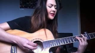 Taro by Alt-J (∆) guitar live acoustic vocal cover (by Tina V)